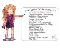 Yes!! I am otaku,and I'm proud!!