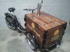 Icicle Tricycles Cold Brew Coffee Bicycle