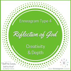 Enneagram #Type4 - when you surrender your control over your life and allow Christ to lovingly care for you and guide you, you will see the constraints and grip of your personality loosen. When this happens, you will see that you are His beloved child of God. This realization allows old patterns to fall away and your true authentic self in Christ to fully emerge. When this happens your personality will now REFLECT the image of Christ is it's particular and beautiful way as seen in the…
