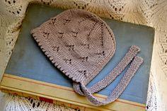 Ravelry: Snowdrop #Knit #Bonnet #pattern by Amy Mercer
