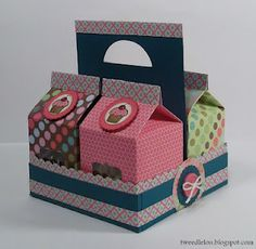 Candy filled paper cartons
