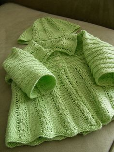 Ravelry: Jacket and Hat pattern by Naturally Yarns
