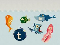 Social Media Icons #socialmedia