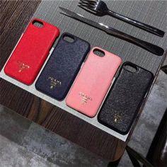 ファションブランドPRADA iphoneX/iPhone8 plus レザー カバー ペア プラダ アイホンx ハードケース iphone7/6s plus 人気ケース オシャレ 送料無料