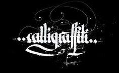 Resultado de imagen para calligraffiti letras