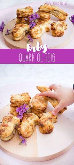 Quark-Öl-Teig für die ganze Familie ohne Zucker! www.frauerfreut.de