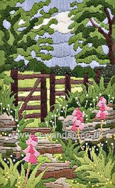 Twilleys of Stamford Kissing Gate Longstitch Kit