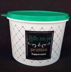 caixa leite em pó tupperware linha bistrô