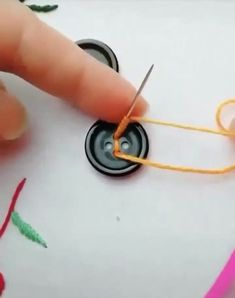 Best 11 Creative ideas about embroidery and sewing Sewing Stitches, Hand Embroidery Stitches, Embroidery Techniques, Ribbon Embroidery, Sewing Techniques, Cross Stitch Embroidery, Embroidery Patterns, Sewing Patterns, Sewing Hacks