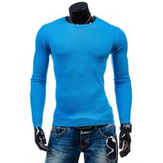 Pánske svetlo modré svetre - fashionday.eu Nasa, Men Sweater, Turtle Neck, Hoodies, Sweaters, Fashion, Moda, Sweatshirts, Pullover