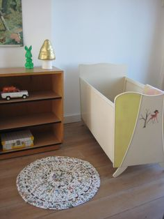 vintage bedje baby cot | www.mevrouwdeuil.nl