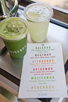 Robert Connolly + Robbie Pyle of JUICEBOX - Steamed Not Fried - Package design for beginners juice Healthy Bars, Healthy Juice Recipes, Healthy Juices, Smoothie Bar, Fruit Juice, Fruit Smoothies, Fruit Drinks, Juice Bar Menu, Juice Bar Design