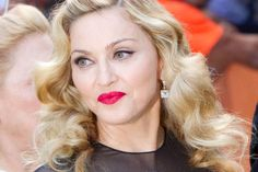 Director Madonna arrives at the gala for the film 'W.E.' during the Toronto International Film Festival in Toronto Monday, Sept. 12, 2011.