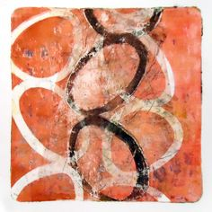Nexus « Lisa Zukowski, gelatin plate monoprint