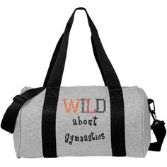 Are you a dancer? You'll love this dance bag! It's like a comfy sweatshirt made into a super cute bag! Add your dance company name, your name and some cool dance art. Gymnastics Bags, Cheer Shirts, Customized Girl, Duffel Bag, Weight Lifting, Gym Bag, Sporty, Check, Design
