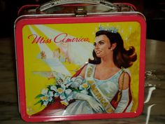vintage 1972 Aladdin Industries Miss America this was first lunchbox my mom bought it when I was a baby!!