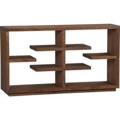 Crate and Barrel Shelving Unit