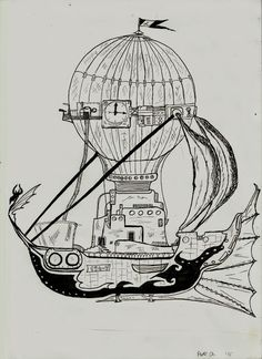 # steampunk # baloon #hot air balloon  #Flying ship   #hobby # https://plus.google.com/u/0/104282453841700267188/posts