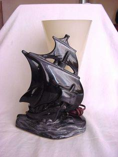 beauceware tyv lamp, plastic cone shade