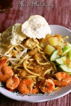 Mie Belitung...I'm just so hungry right now