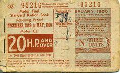 Petrol ticket