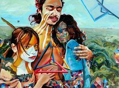 El pixel como metáfora en la pintura de Juan Travieso / Arte a un click
