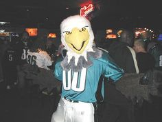 An appearance by your favorite mascot. Swoop - Philadelphia Eagles Mascot