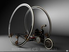 Steam Engine Bike - Mikhail Smolyanov