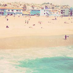 Hermosa Beach California art print