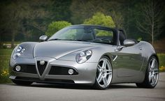 Potentially the most beautiful car on the road today:  The Alfa Romeo 8C.