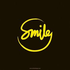 Smile like you mean it by Reinhardt Ngujo Graffiti Lettering, Typography Letters, Typography Design, Logo Design Inspiration, Icon Design, Unity Logo, Call Logo, Smile Logo, Dentist Logo