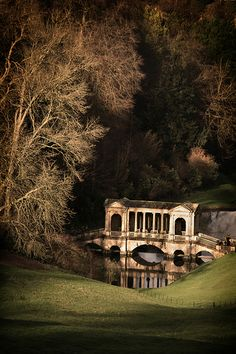 Prior Park Landscape Garden, Palladian Bridge. Flickr image by archidave