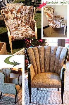 Channel chair (Gaga's...idea).