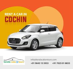 Kerala Car rentals by Kerala Cabs N Tours provide you cars from luxury class to normal cabs for rental purpose in Kochi, Kerala. Kerala, Cochin, Best Car Rental, Seaside Resort, Hill Station, Tours, Pilgrim, Museums, Resorts
