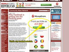 MoneyGram are claiming that this fee will be the  only one you need to transfer money abroad. What they don't mention is that on top of this fee is the inflated exchange rate that they choose to use, instead of the mid-market rate. All the money in between goes straight from your pocket, into theirs.