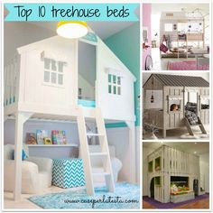 Top 10 letti a casetta per bambini * Top 10 treehouse beds for children