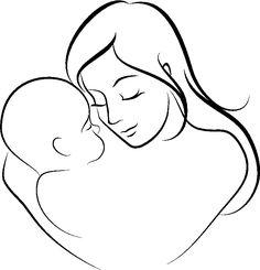 Dibujo-del-Dia-de-la-Madre-para-colorear-7.jpg (776×806)