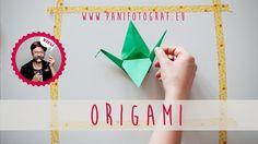 origami crane - easy DIY wedding decoration
