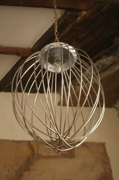 No21 Interiors @ Kilver Court. Industrial whisks re-purposed