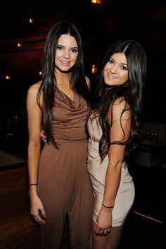 Kylie avec sa soeur Kendall