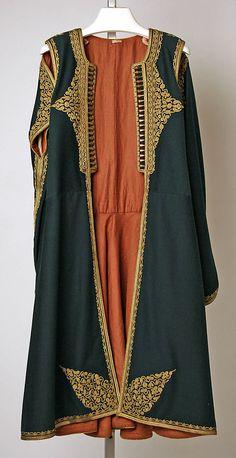 Coat                                                                                      Date:                                        1800–1937                                                          Culture:                                        Montenegrin