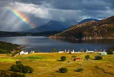 Kenmore Rainbow in August, Applecross Peninsula, North West Scotland.