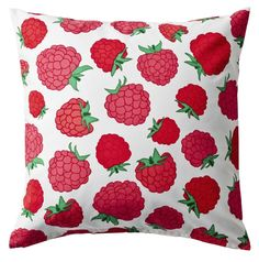 Try a splash of color with this fun SOMMAR pillow from IKEA.