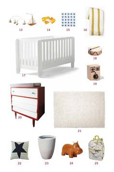 Cup of Jo Makeover | The Nursery
