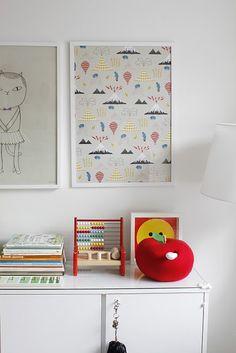 artwork kids bedroom