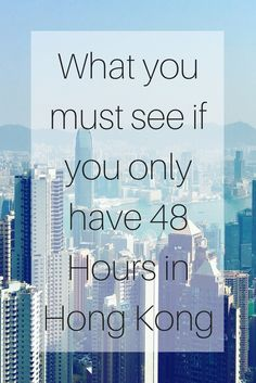 What you must see if you only have 48 Hours in Hong Kong - We were in Hong Kong for two days, which is much longer than most ports we stop in, so I made the most of it by going on tours, so I packed in as much as I could. Hong Kong can be over whelming if you are not sure what you want to see, I knew I had to see the Big Buddha and see the city sites.