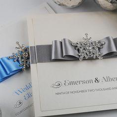 Snow Queen Wedding Invitations
