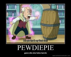 Ahh!! I love Fairy Tail and PewDiePie, SO THIS IS AWESOME!!!