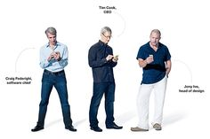 Apple's top three executives at one place