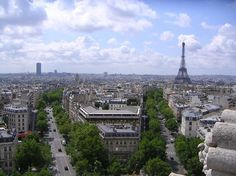 Arc de Triomphe - view from the top